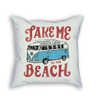 Take me to the Beach Pillow
