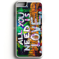Beatles Graffiti - All You Need Is Love iPhone 7 Case | aneend