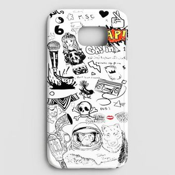 1D Zayn Malik Tattoos Samsung Galaxy S7 Edge Case