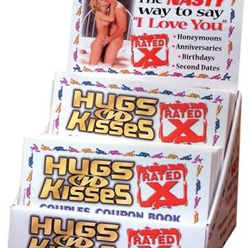 X-Rated Hugs N Kiss Couples Coupon Book