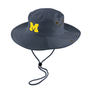 The M Den -  Adidas University of Michigan Safari Hat