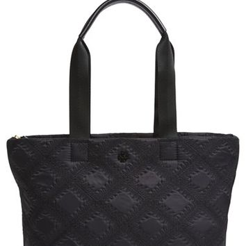 Tory Burch 'Small Flame' Quilted Nylon Tote | Nordstrom