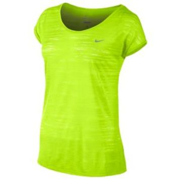 Nike Dri-FIT Cool Breeze Short Sleeve Top - Women's at Lady Foot Locker