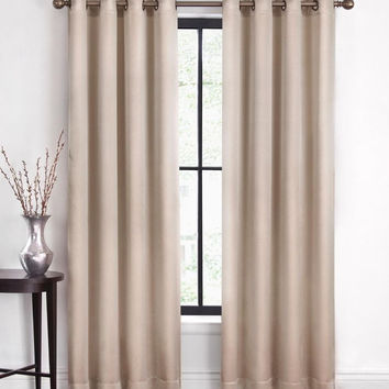 """Cannon Window Curtain Panel - Shimmer Ivory 52""""x95"""""""