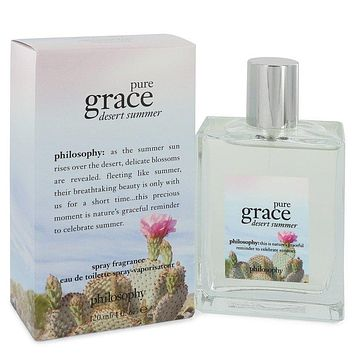 Pure Grace Desert Summer by Philosophy Eau De Toilette Spray 2 oz for Women