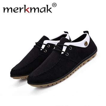 Merkmak 2017 Men's Shoes Fashion Luxury Brand Summer Autumn Zapatos Casual Breathable For Jogging Footwear Shoes Dropshipping