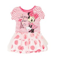 Stripes Dots Minnie Dress 12 24m 334821967 | Disney Baby | Shop by Brand | Burlington Coat Factory