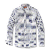 Joe Fresh Men's Slim Fit Print Shirt