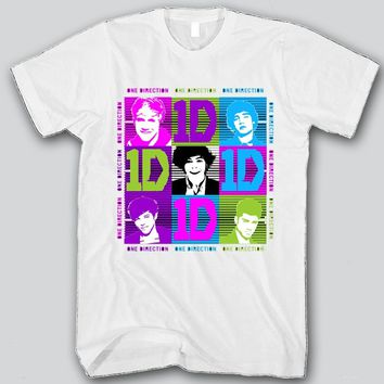 1D Small Faces Unisex T-shirt Funny and Music