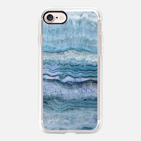 Mystic Stone Aqua Blue iPhone 7 Case by Lisa Argyropoulos | Casetify