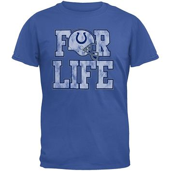 Indianapolis Colts - For Life Soft T-Shirt