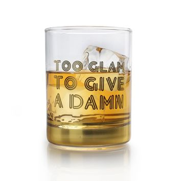 Highball Glasses: Too Glam to Give a Damn