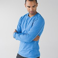 surge warm crew *silver | men's long sleeve tops | lululemon athletica