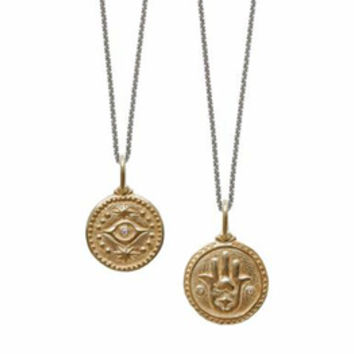 Erica Molinari Hamsa And Evil Eye Charm