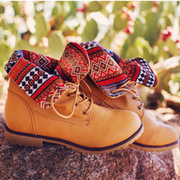Victory Aztec Boots