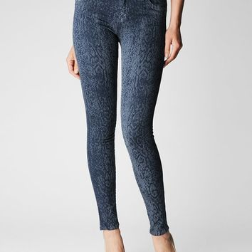 True Religion Halle Super Skinny Womens Jean - Ink
