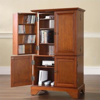 LaFayette Media Storage & Gaming Cabinet in Classic Cherry