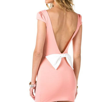 Take Notice Backless Dress (more colors)