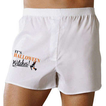 It's Halloween Witches Boxer Shorts