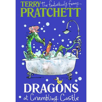 Dragons at Crumbling Castle: And Other Stories (Hardback) By Terry Pratchett