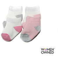 Walmart: Child of Mine by Carters Infant Baby Girl Ankle Socks, 4 Pairs