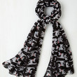 Tail Me About It! Scarf in Cat | Mod Retro Vintage Scarves | ModCloth.com