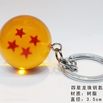 Dragon Ball Resin ball Bag Parts & Accessories pendant ornament bag decoration unisex gift bag chain pendants