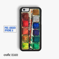 IPHONE 6 CASE, Watercolor Set Rubber iPhone Case - FREE Shipping - (Pre-Order)
