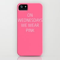 Mean Girls #8 – Pink iPhone & iPod Case by Enyalie