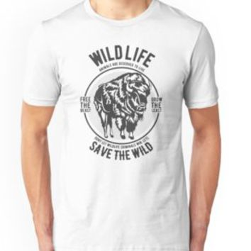 'WILDLIFE' T-Shirt by Super3