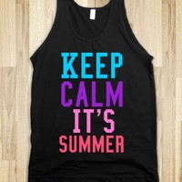Keep Calm It's Summer