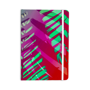"Alison Coxon ""Hot Tropical"" Pink Red Everything Notebook"