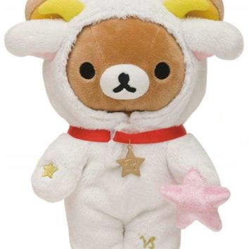 zodiac sign Capricorn Rilakkuma plush bear San-X - Plush Toys - Stationery