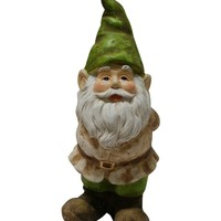 Alpine Gnome Statue with Hand Behind His Back | www.hayneedle.com