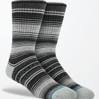 Stance Gaucho Crew Socks - Mens Socks - Black - One