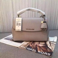 Womens Handbag MICHAEL KORS Crossbody AVA SMALL Leather Satchel Bag