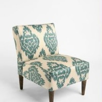 UrbanOutfitters.com > Slipper Chair - Turquoise Ikat