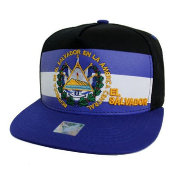 * El Salvador Cap In Black