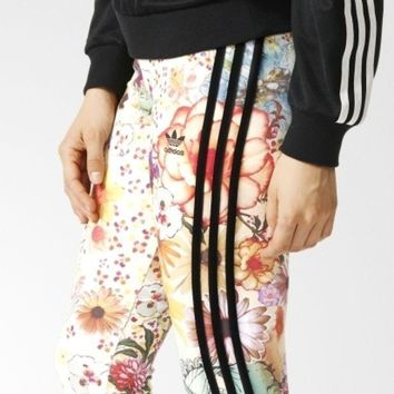 ICIKFC8 Adidas Women Fashion Running Leggings Sweatpants