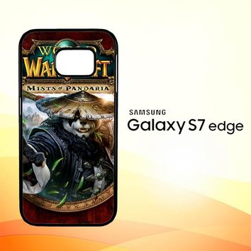World of Warcraft Guardian Druid Mists of Pandaria Z0652 Samsung Galaxy S7 Edge Case