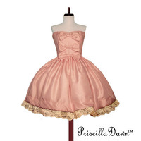 Sweet Pink Marshmellow Roccoco Hime Formal Lolita Prom Cupcake Dress -------CUSTOM in YOUR size