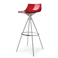 Ice contemporary barstool by Calligaris - Made in Italy | EuroFurniture