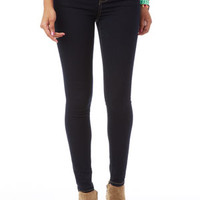 Liv High-Rise Jeggings in Indigo Rinse - Denim