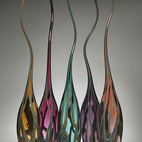 Curvasi Series by Victor Chiarizia: Art Glass Sculpture | Artful Home
