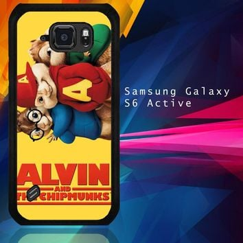 Alvin And The Chipmunks F0267 Samsung Galaxy S6 Active  Case