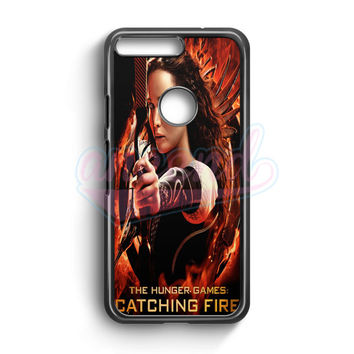 Katniss In The Hunger Games Google Pixel Case | aneend.com