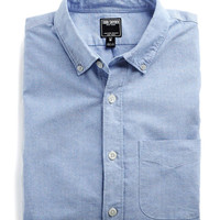 Japanese Selvedge Oxford Shirt in Blue
