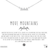 Move Mountains Dainty Necklace | Bryan Anthonys