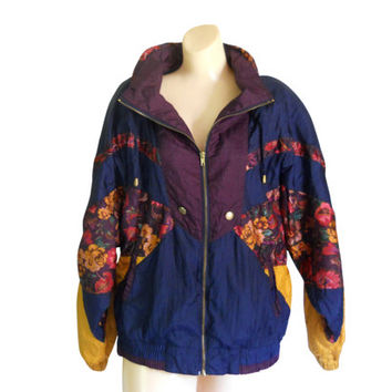 Womens Nylon Windbreaker Jackets - Pl Jackets
