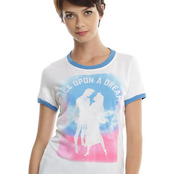 Disney Sleeping Beauty Once Upon A Dream Girls Ringer T-Shirt